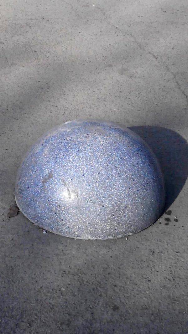 Парковочный столбик полусфера ПС-02
